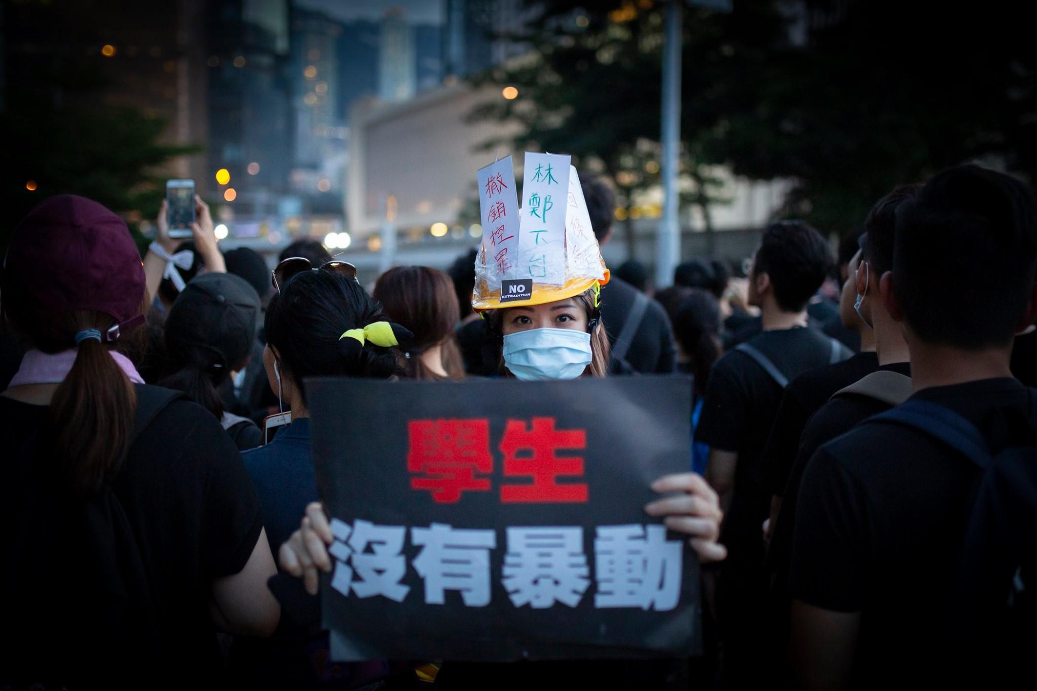 hong kong protest ©arnaud texier